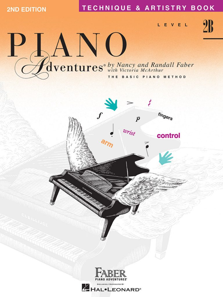 Piano Adventures® Level 2B Technique & Artistry Book - 2nd Edition