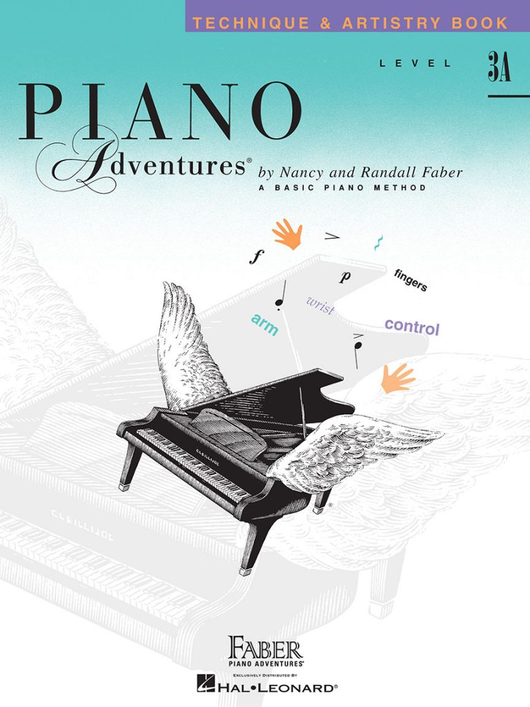Piano Adventures® Level 3A Technique & Artistry Book - 2nd Edition