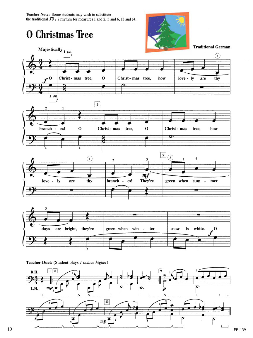 Piano Adventures® Level 2A Christmas Book | Faber Piano
