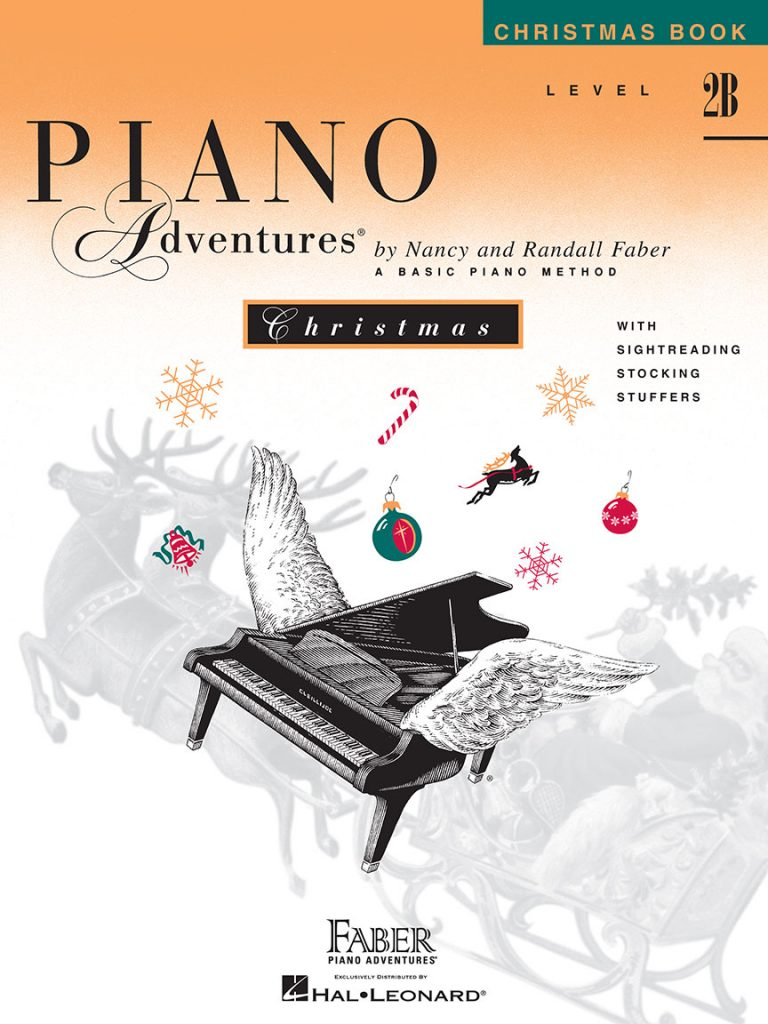 Piano Adventures® Level 2B Christmas Book