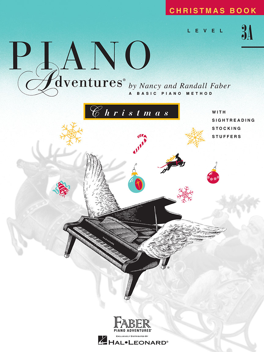 Piano Adventures® Level 3A Christmas Book