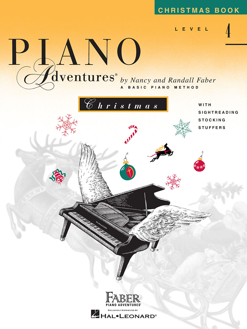Piano Adventures® Level 4 Christmas Book
