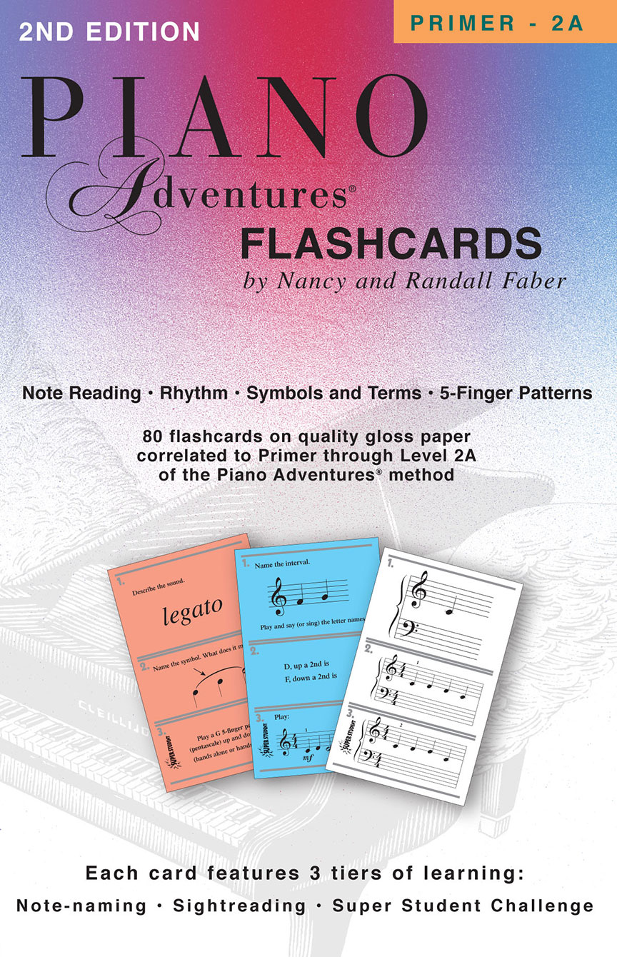 Piano Adventures® Flashcards In-a-Box