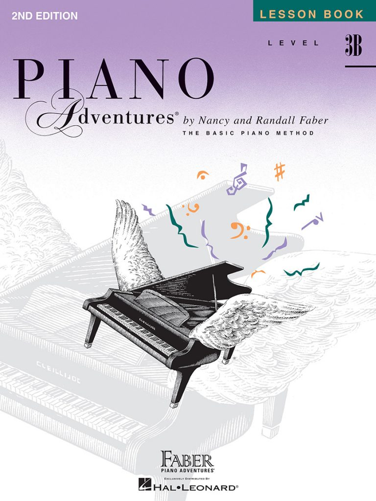Piano Adventures® Level 3B Lesson Book - 2nd Edition