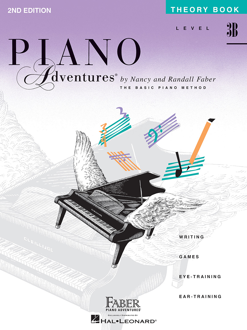 Piano Adventures® Level 3B Theory Book - 2nd Edition