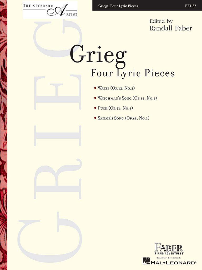 Grieg - Four Lyric Pieces