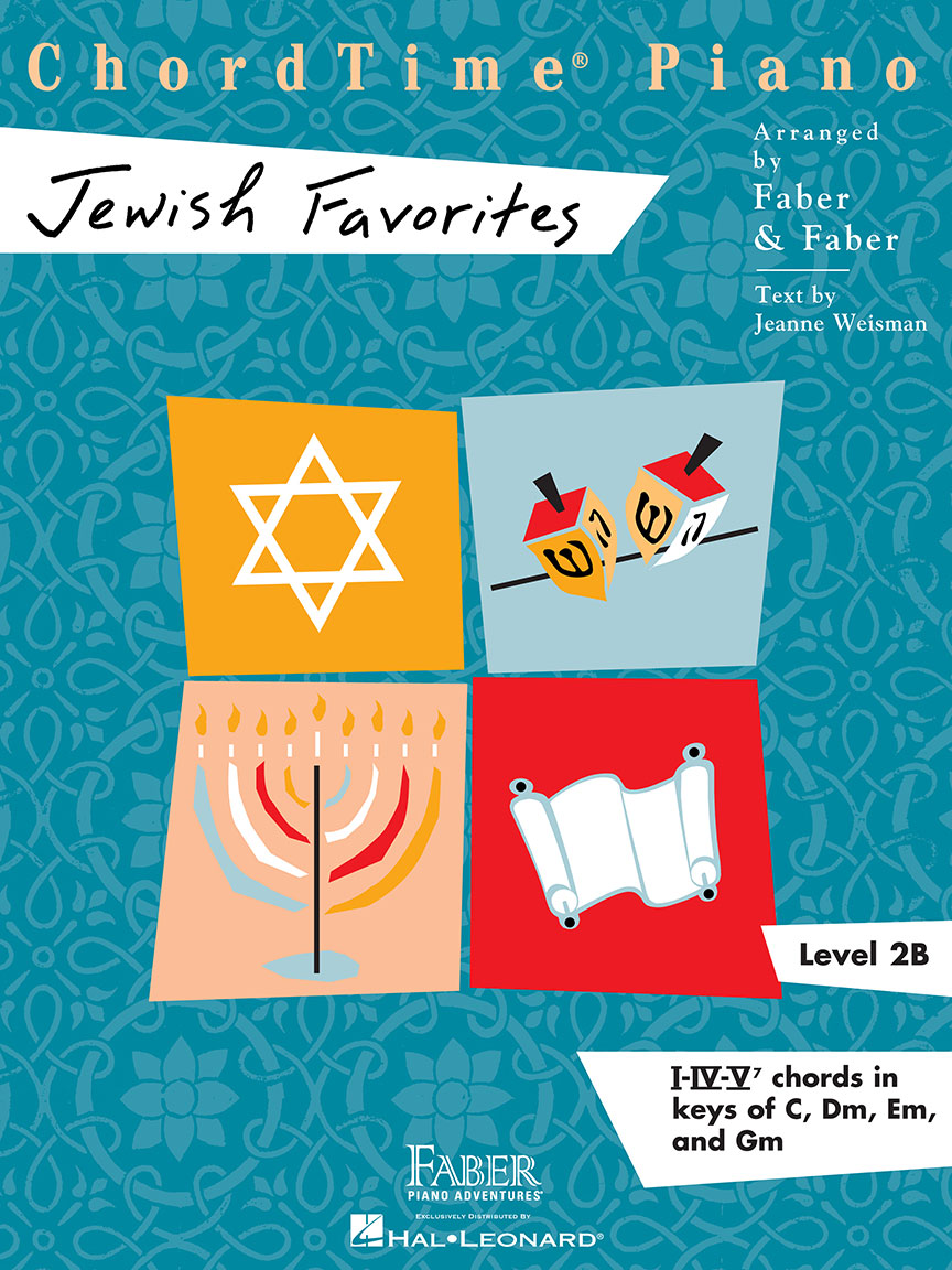 ChordTime® Piano Jewish Favorites