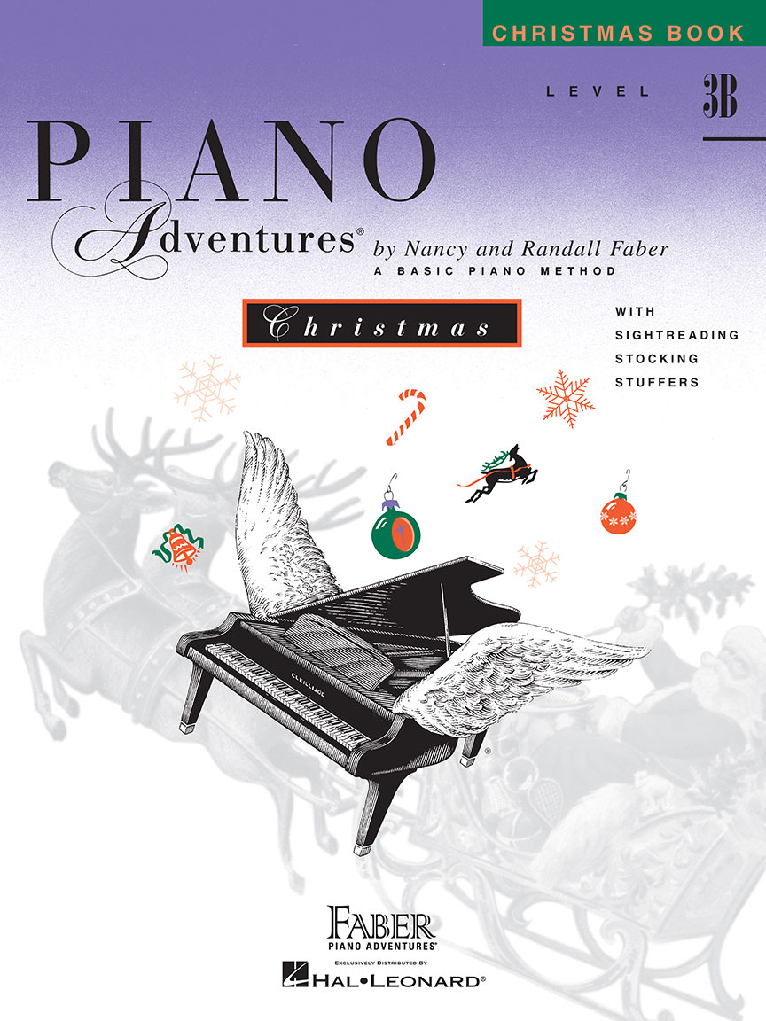 Piano Adventures® Level 3B Christmas Book