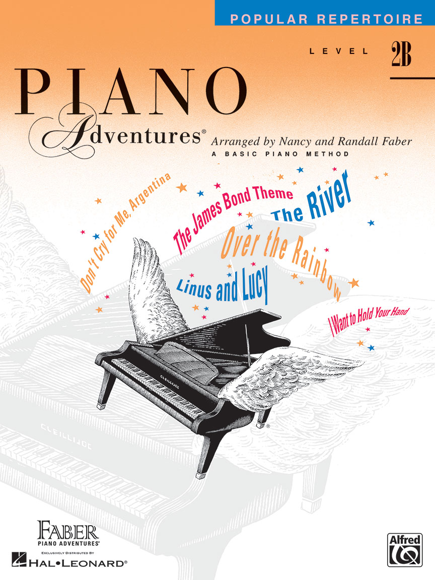 Piano Adventures® Level 2B Popular Repertoire