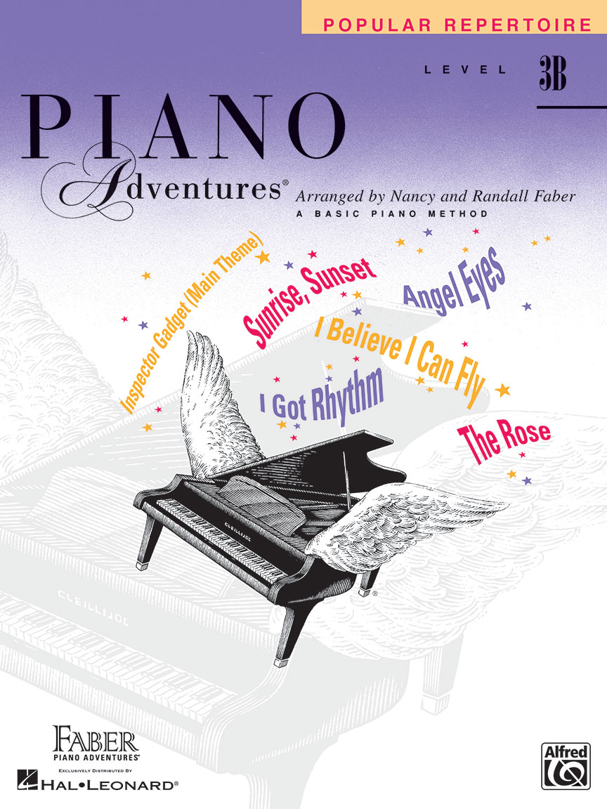 Piano Adventures® Level 3B Popular Repertoire Book