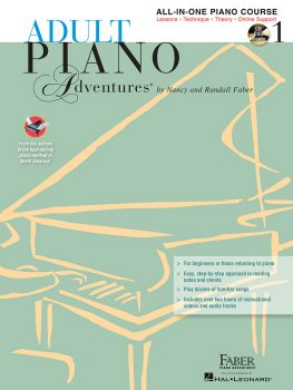 Adult Piano Adventures® All-in-One Lesson Book 1 with CD
