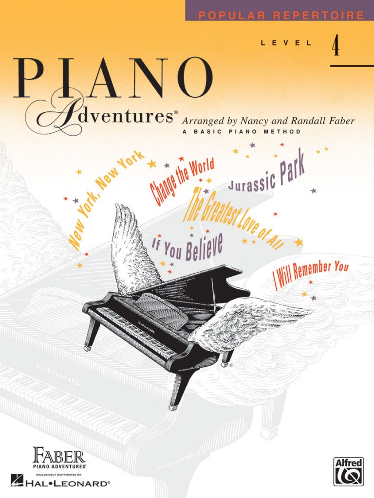 Piano Adventures® Level 4 Popular Repertoire