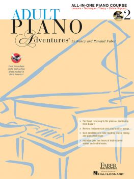 Adult Piano Adventures® All-in-One Lesson Book 2 with CD