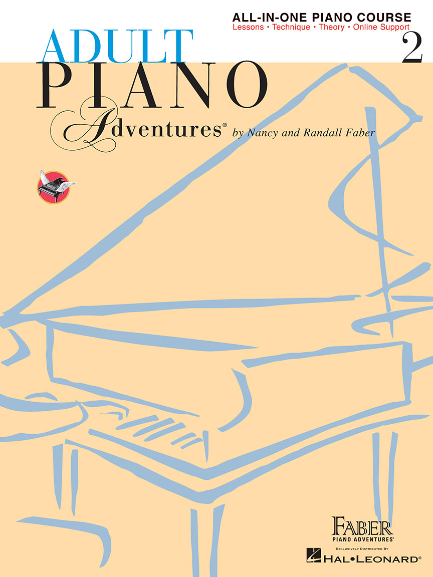 Adult Piano Adventures® All-in-One Lesson Book 2