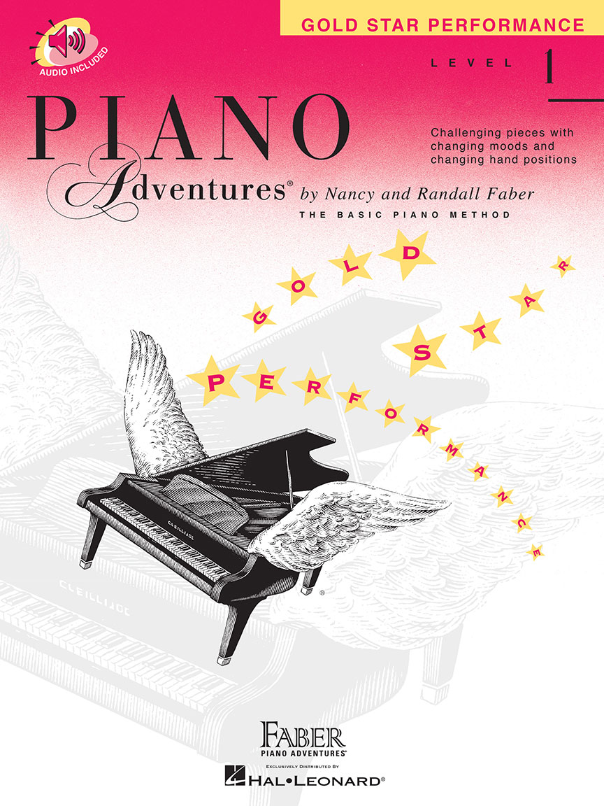 Piano Adventures® Level 1 Gold Star Performance with CD