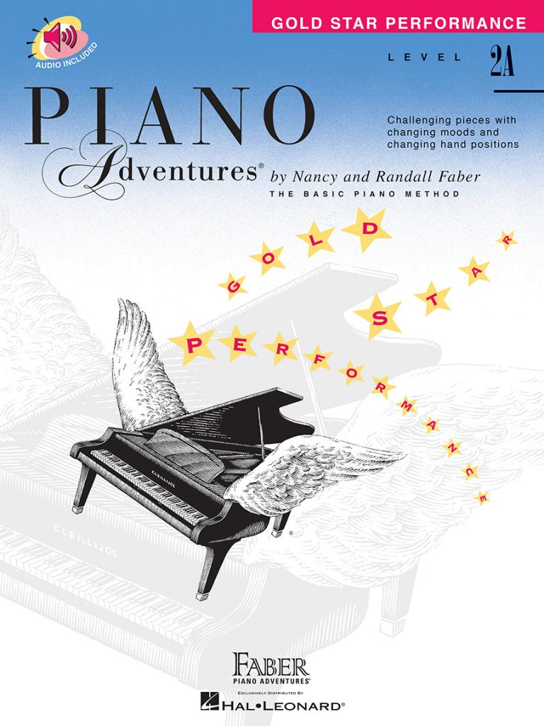 Piano Adventures® Level 2A Gold Star Performance with CD