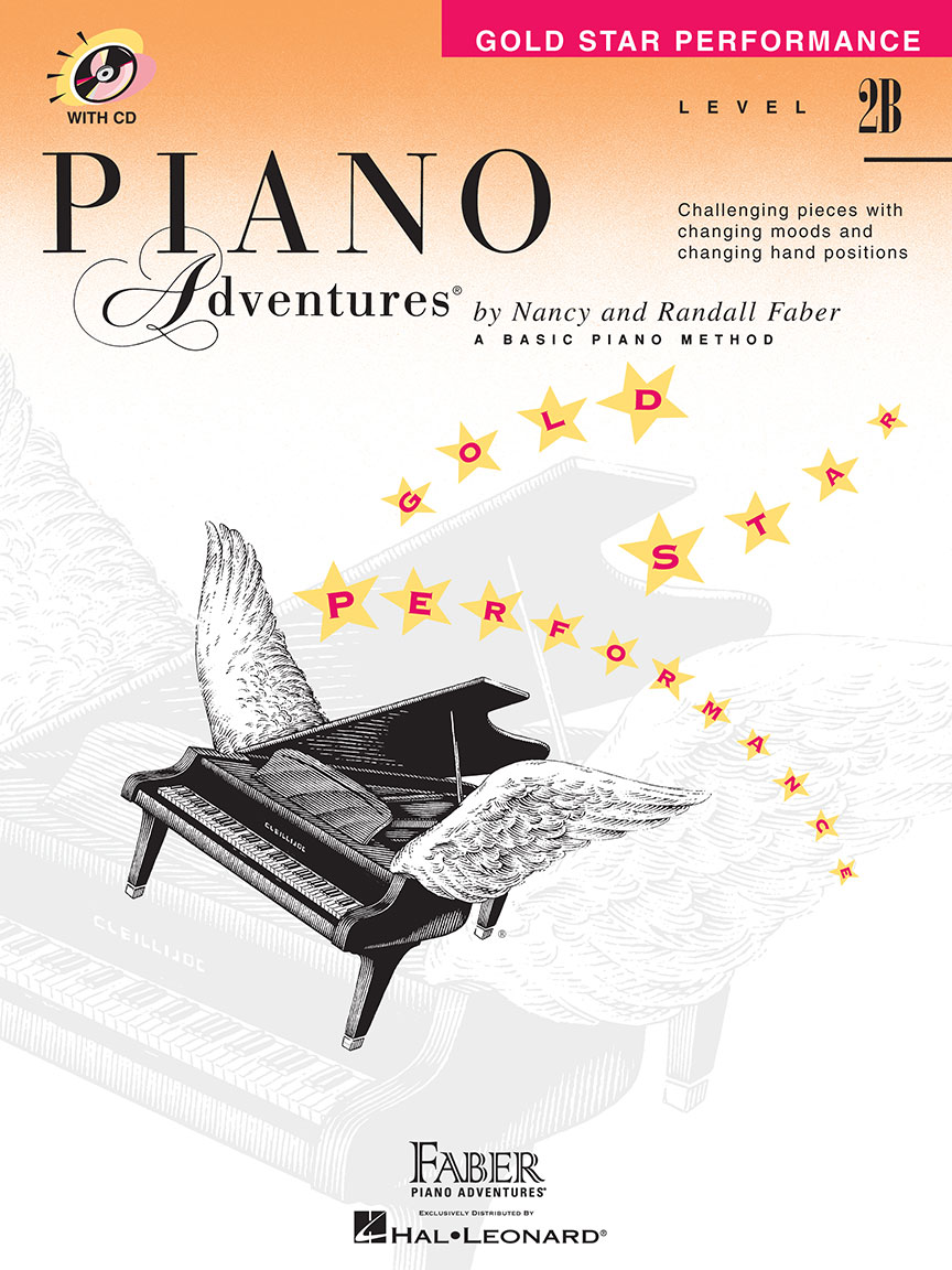 Piano Adventures® Level 2B Gold Star Performance with CD