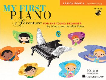 My First Piano Adventure® Lesson Book A with CD