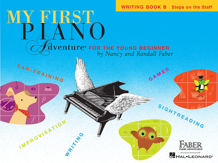 My First Piano Adventure® Writing Book B