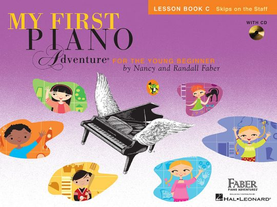 My First Piano Adventure® Lesson Book C with CD