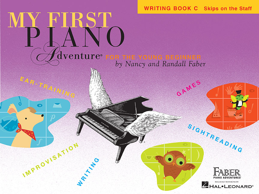 My First Piano Adventure® Writing Book C