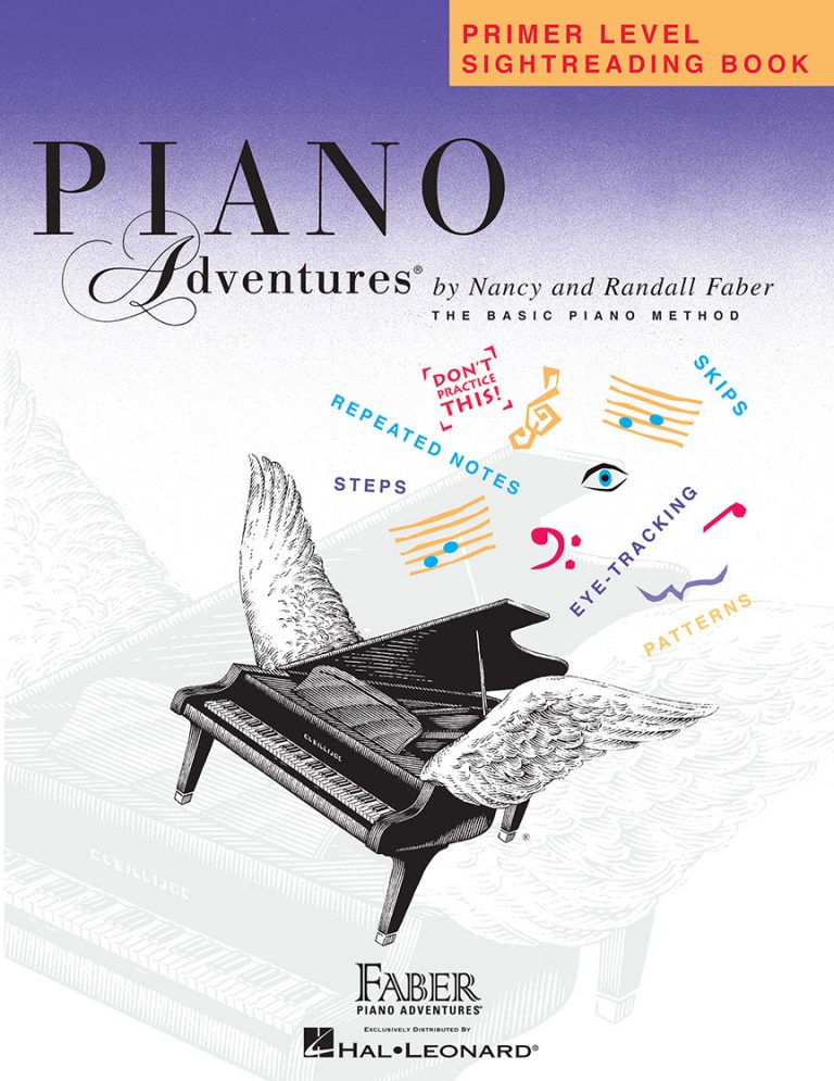 Piano Adventures® Primer Level Sightreading Book