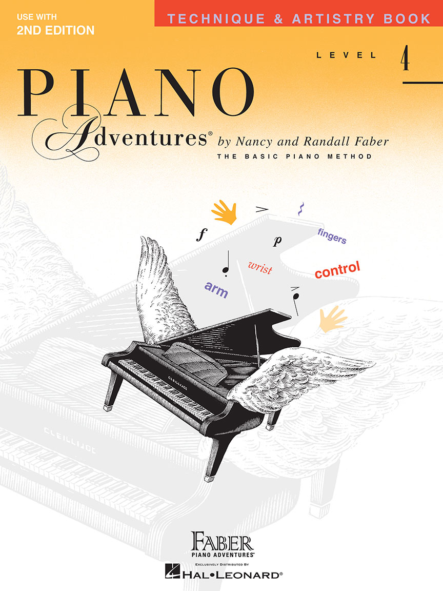 Piano Adventures® Level 4 Technique & Artistry Book