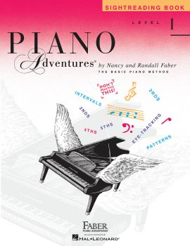 Piano Adventures® Level 1 Sightreading Book
