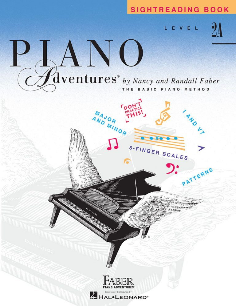 Piano Adventures® Level 2A Sightreading Book