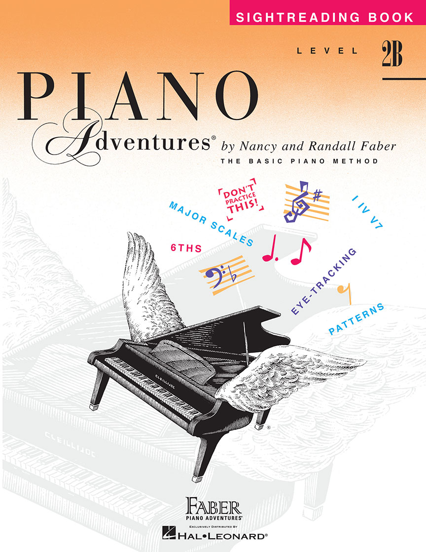 Piano Adventures® Level 2B Sightreading Book