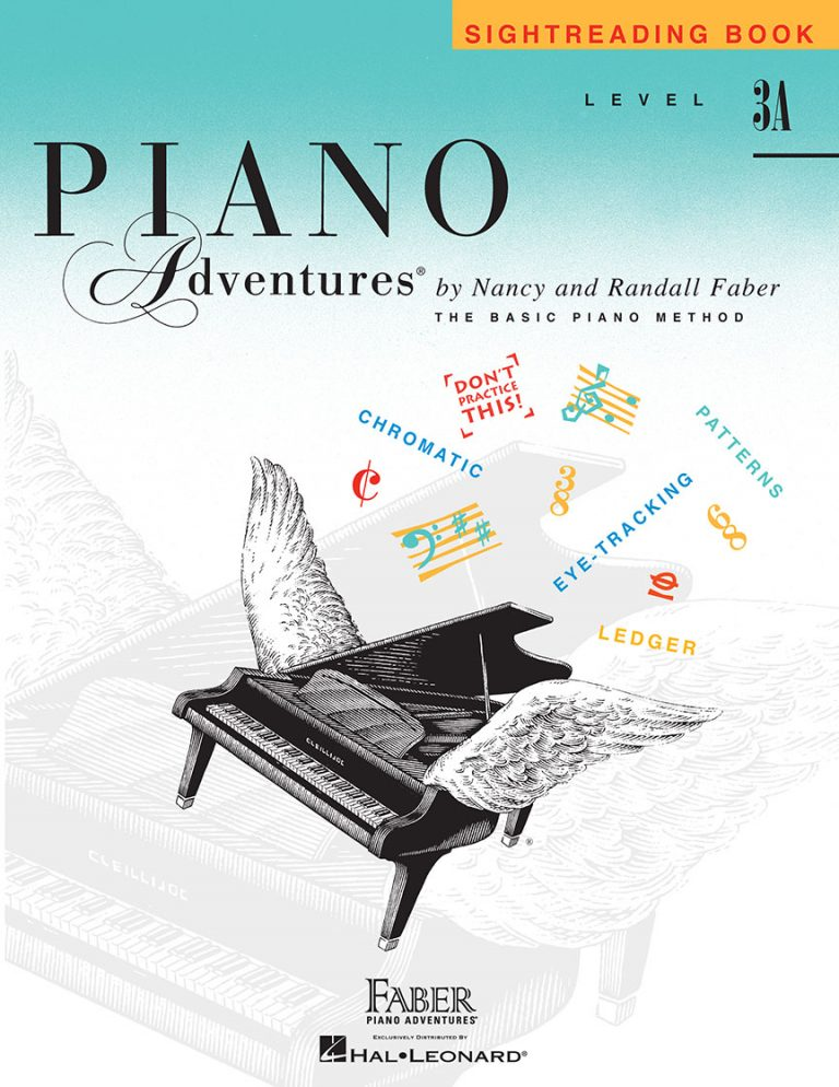 Piano Adventures® Level 3A Sightreading Book