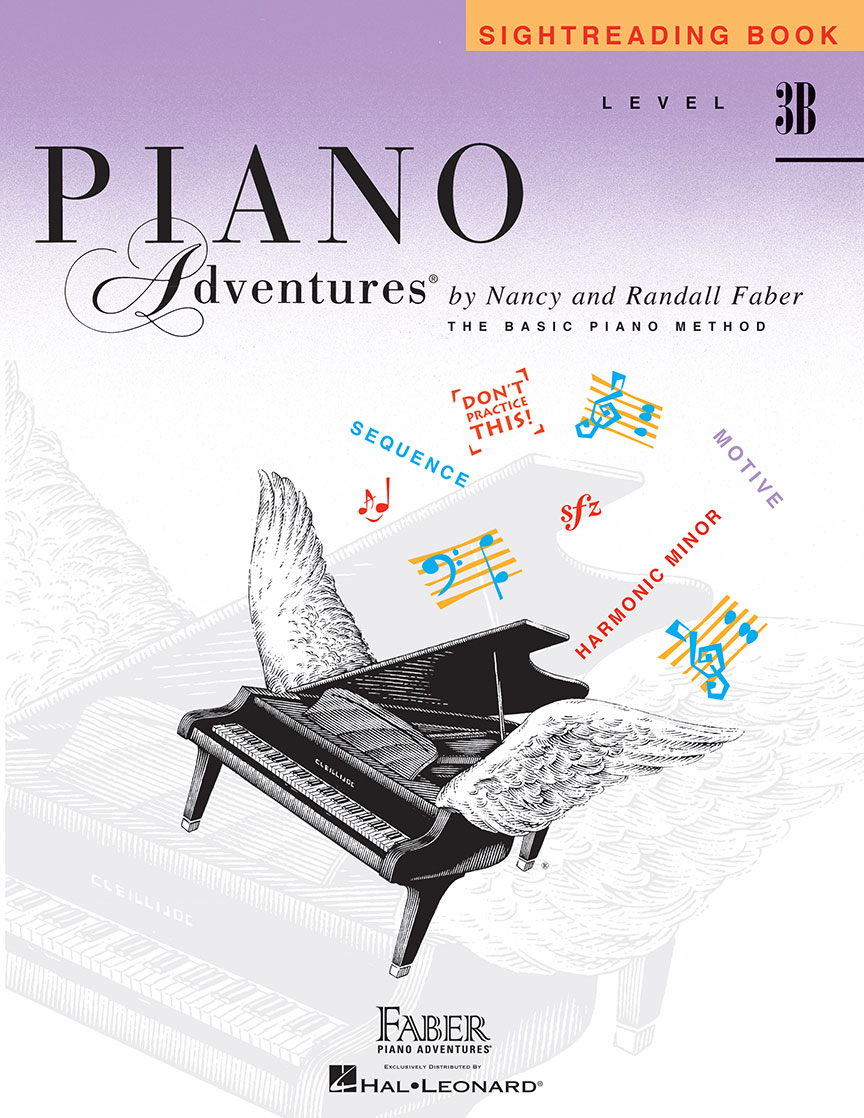 Piano Adventures® Level 3B Sightreading Book