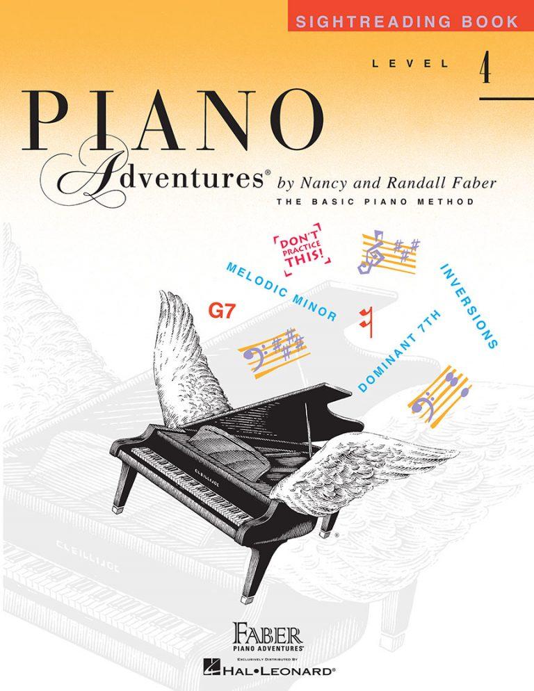 Piano Adventures® Level 4 Sightreading Book