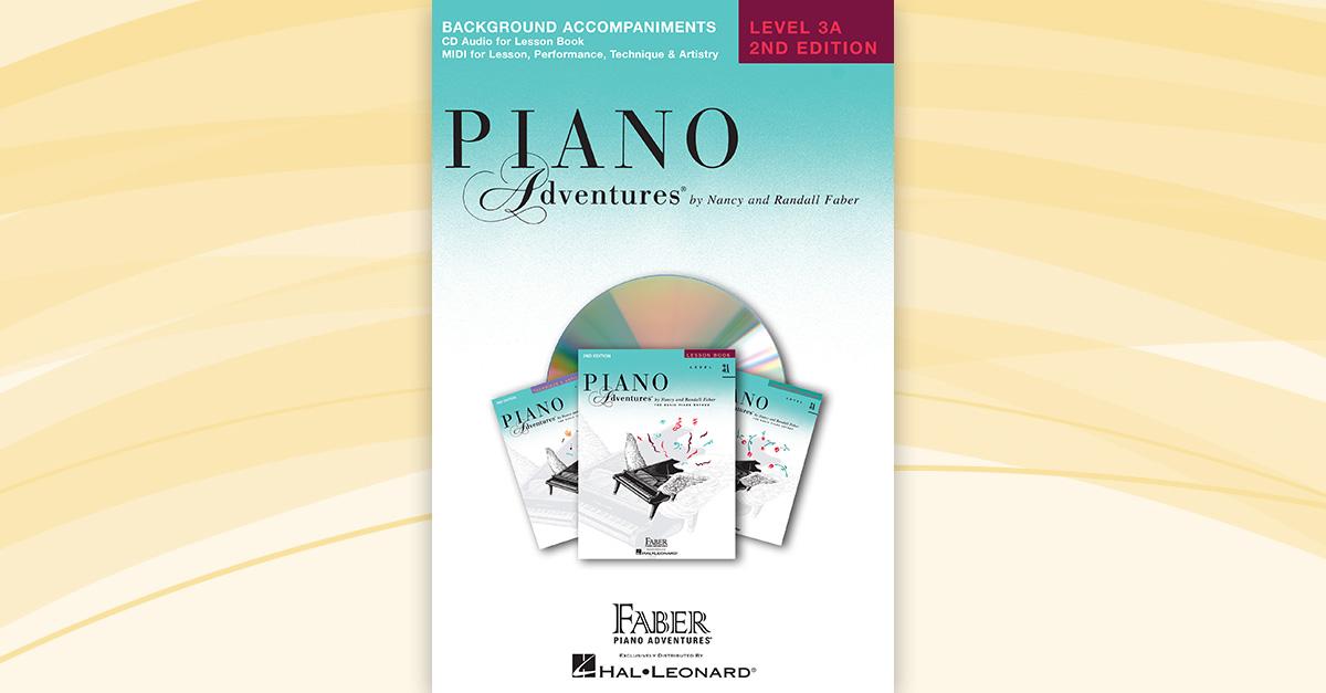 piano adventures level 3a lesson book enhanced cd faber. Black Bedroom Furniture Sets. Home Design Ideas
