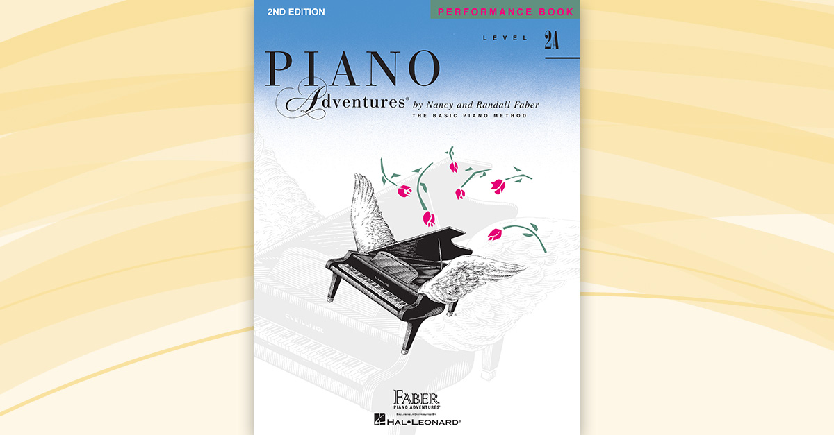 Piano Adventures® Level 2A Performance Book – 2nd Edition