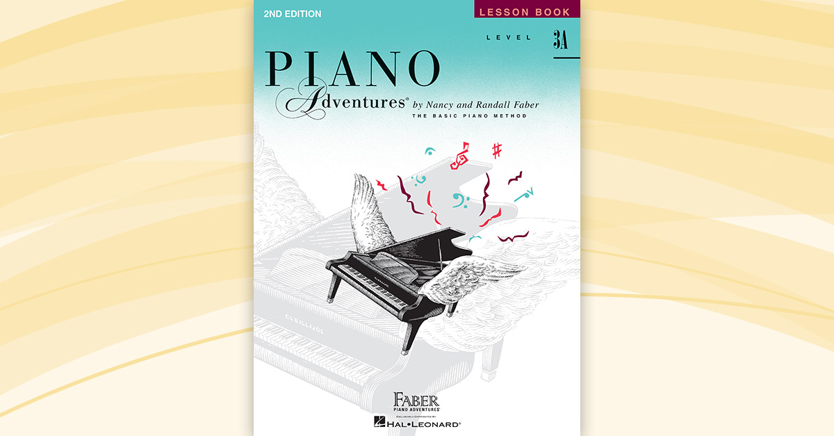 piano adventures level 3a lesson book 2nd edition. Black Bedroom Furniture Sets. Home Design Ideas
