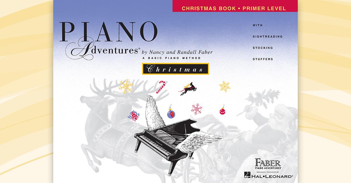 Piano Adventures® Primer Level Christmas Book   Faber
