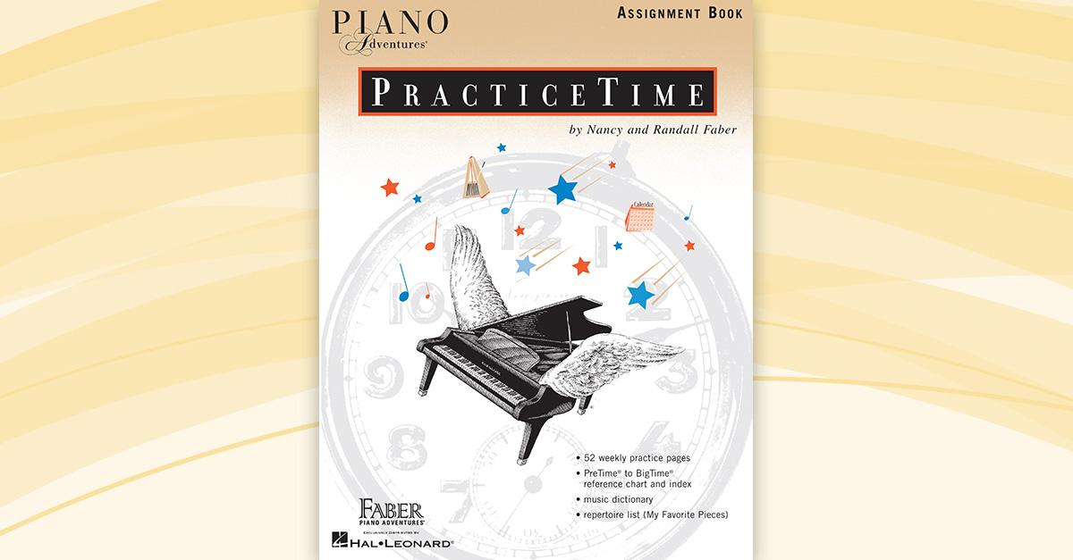 Piano Adventures Practicetime Assignment Book Faber
