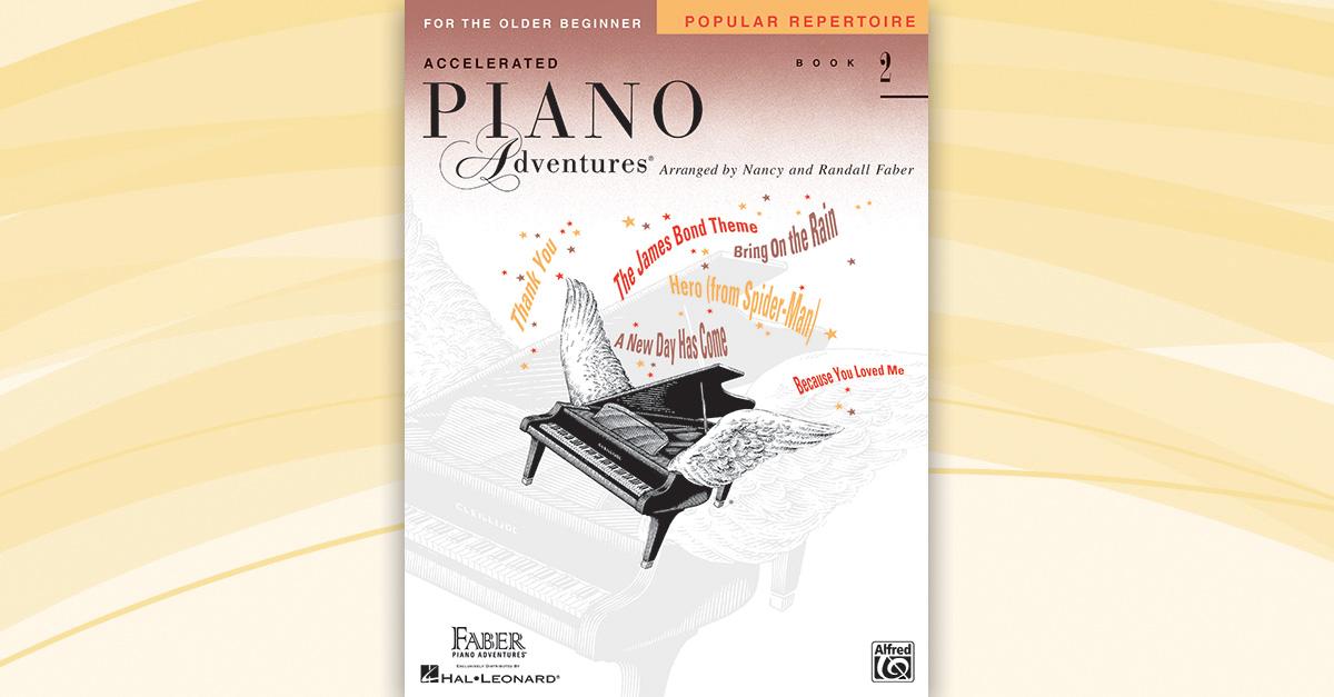 Accelerated Piano Adventures 174 Popular Repertoire Book 2
