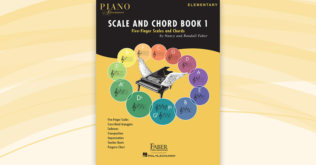 Piano Adventures Scale And Chord Book 1 Faber Piano
