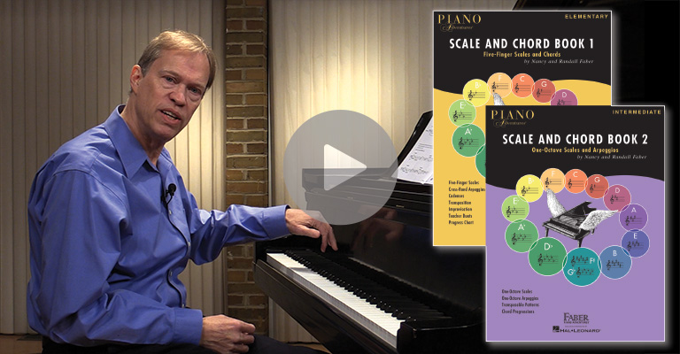 Online Support For Scale And Chord Books Faber Piano