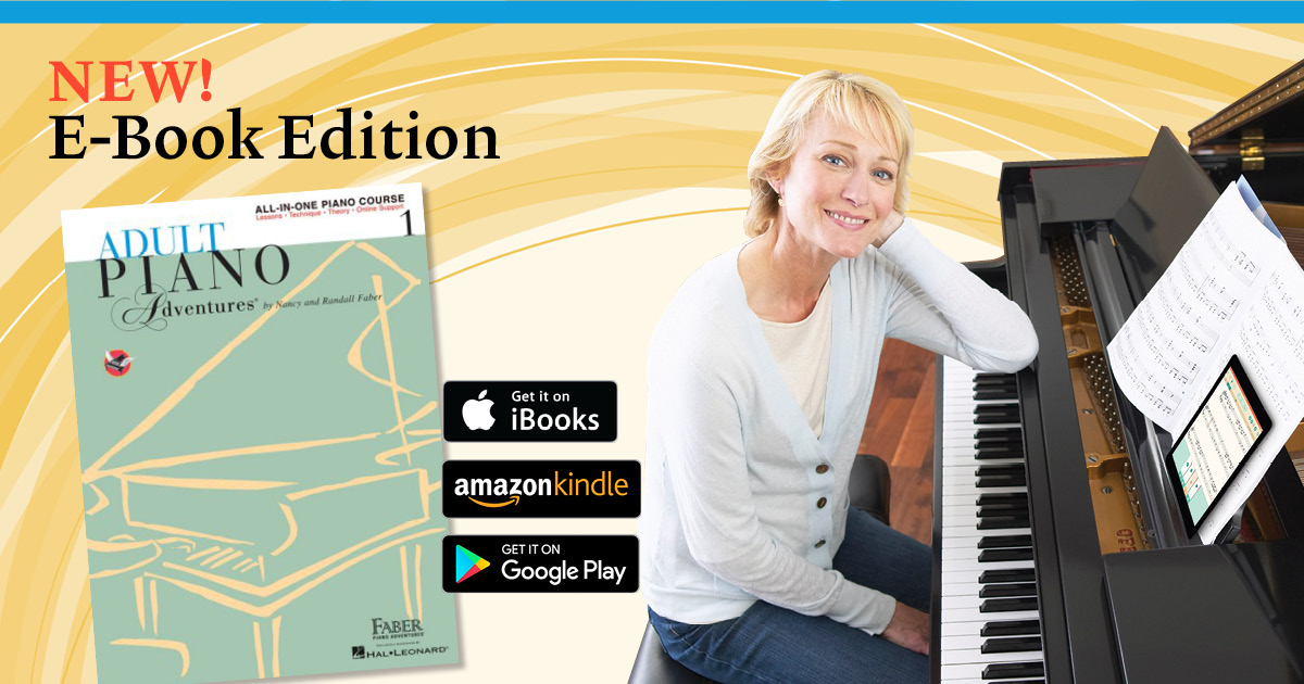 Faber Adult Piano Adventures 73