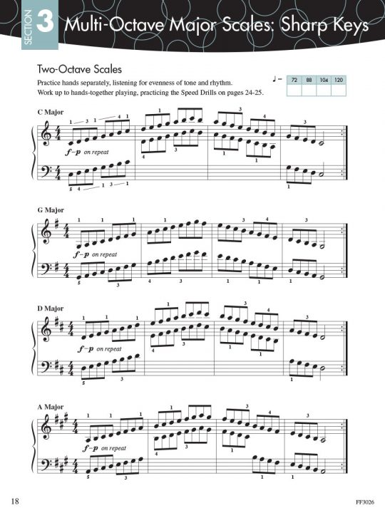 Piano Adventures Scale and Chord Book 3